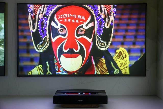 极米发布激光无屏电视开启颠覆传统之路