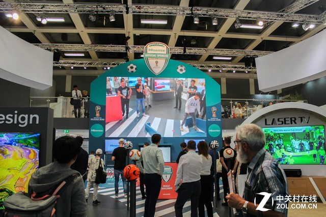海信震撼亮相IFA 激光电视在欧洲更受欢迎