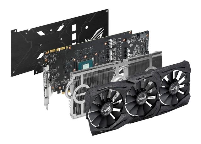 游戏性能爆表 华硕ROG STRIX GTX1070售3999元