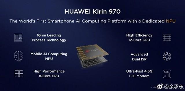 华为麒麟970德国发布 主打移动人工智能
