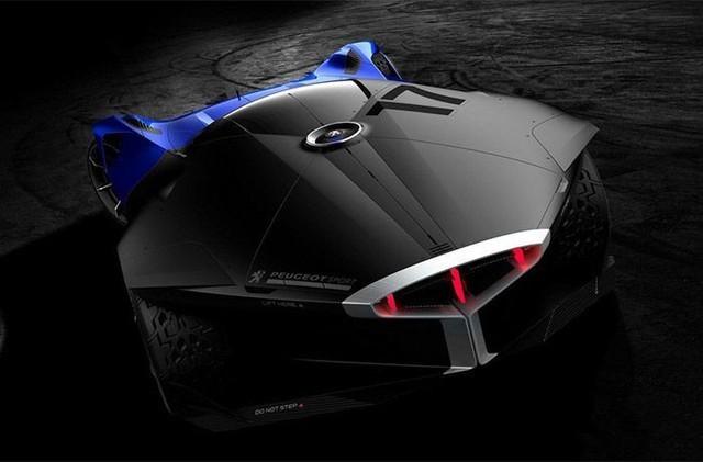 标致L750 R HYbrid概念车 仅限虚拟世界