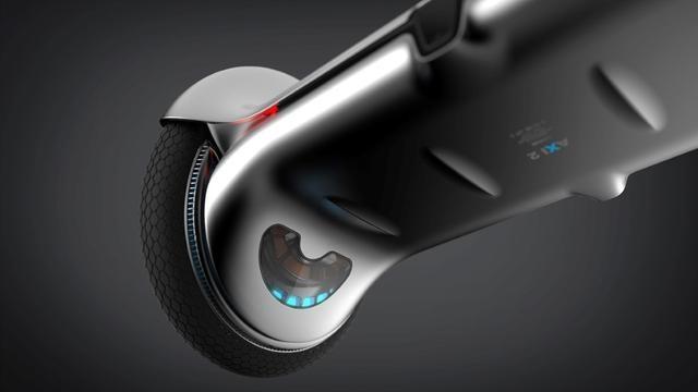 奥迪概念两轮平衡车 设计堪比iPhone