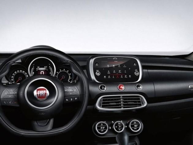 全新菲亚特500X官图发布 配置小幅提升