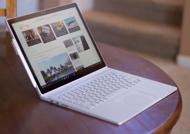 Surface Book二代或六月发布 将升4K屏