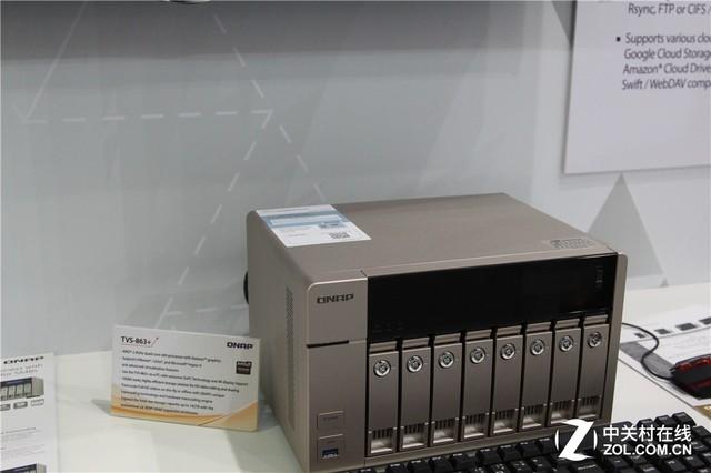威联通NAS网络存储产品亮相Computex图赏