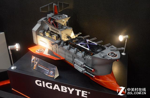 技嘉全新X99旗舰主板亮相台北电脑展