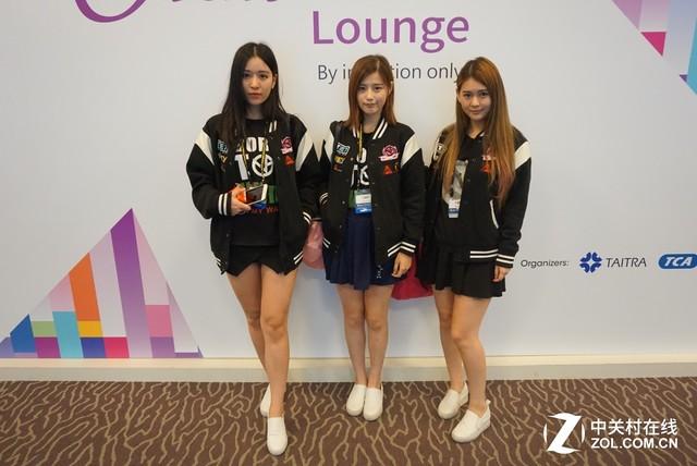 转角遇到爱 台北电脑展偶遇VG战队女队