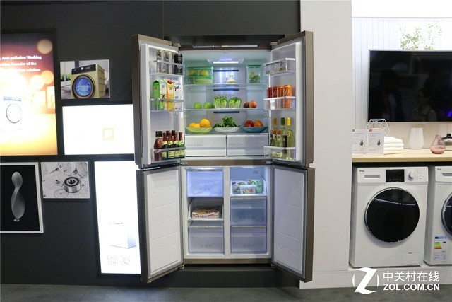 家电频道 ifa2017德国柏林消费电子展 > 正文    一体变频风冷冰箱则