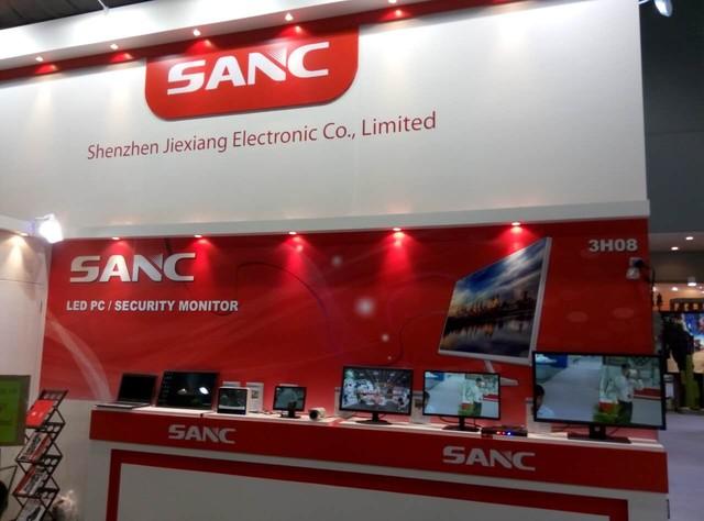 SANC亮相环球资源电子产品展