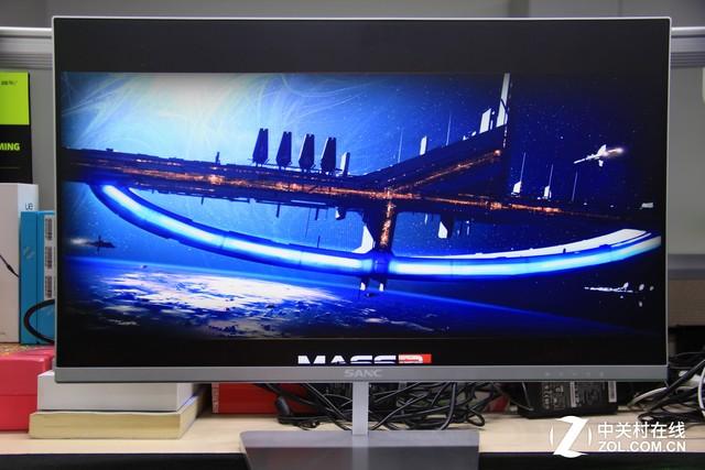 FPS/RTS首选 SANC低蓝光24吋液晶评测