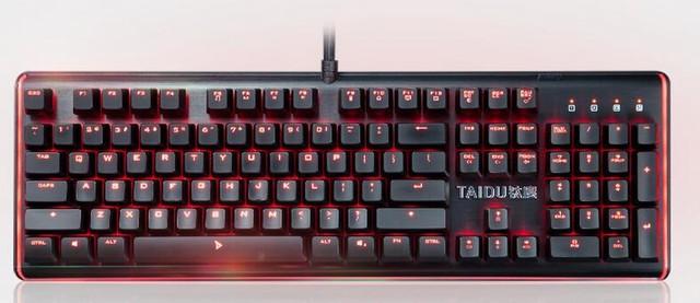 键鼠 新闻 新品发布 > 正文      钛度键盘采用了经典的104键标准美式图片