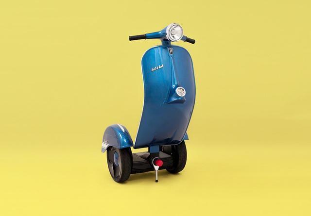 设计师奇特脑洞 多款奇怪造型的平衡车
