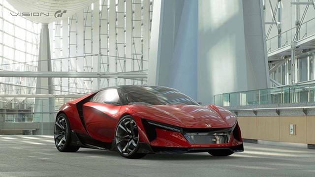 本田发布全新跑车官图 被称为NSX婴儿版