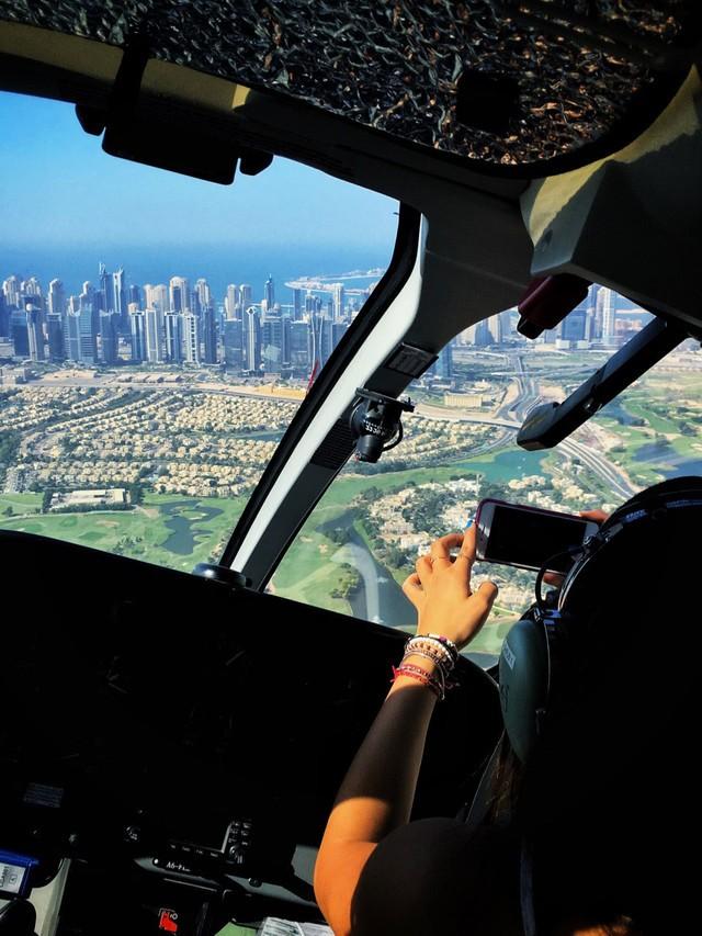 迪拜Uber可以打直升机 还支持支付宝呢