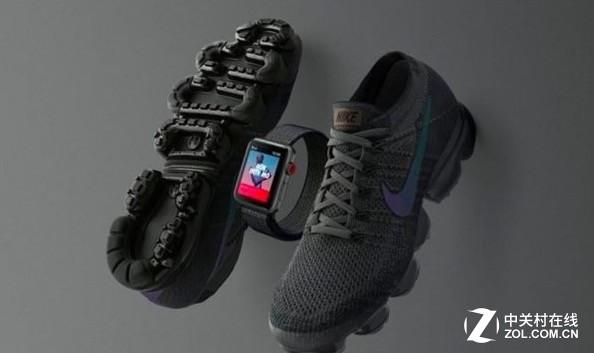 耐克推新款限量版Apple Watch 3,与VaporMax跑鞋更配
