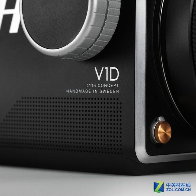 经典机型复活? 哈苏展示V1D概念中幅相机