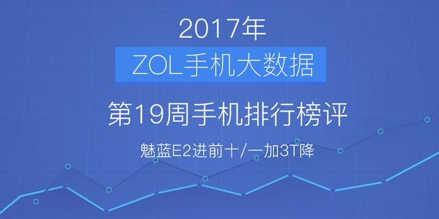 19周手机排行榜评:魅蓝E2进前十/一加降