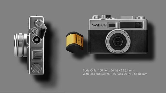 情怀满分 雅西卡发布Y35数字胶片机