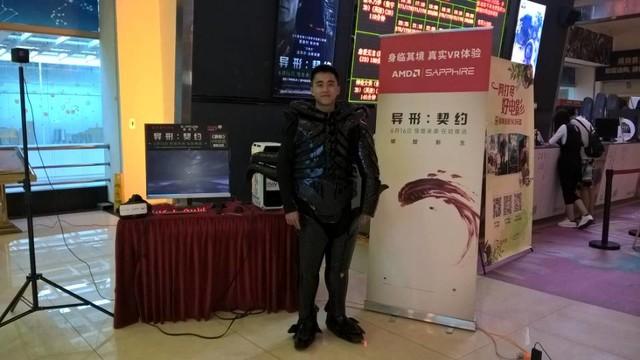 异形:契约VR体验 蓝宝石显卡助力宁美