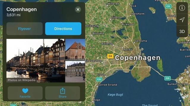 苹果地图Flyover 来一场不同的VR旅行