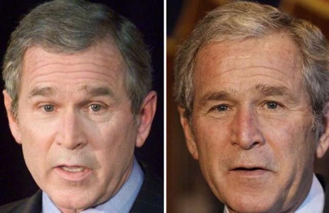 10张图告诉你美国总统是衰老最快的人