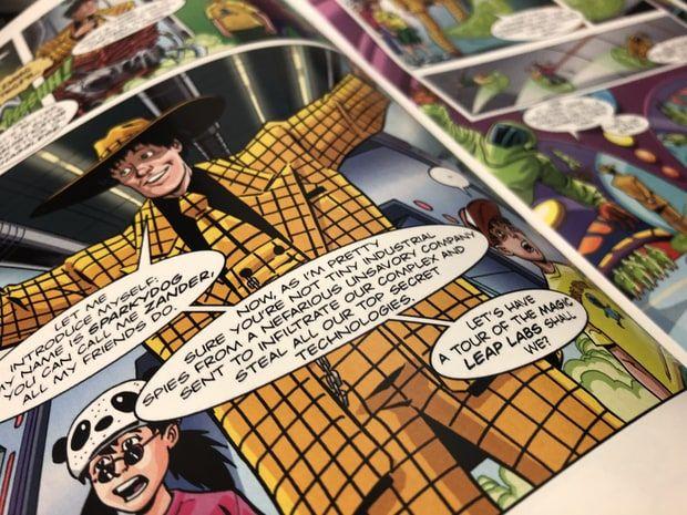 Magic Leap与Madefire将合作推出AR漫画