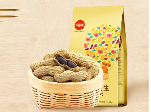 百草味-黑花生150gx2袋