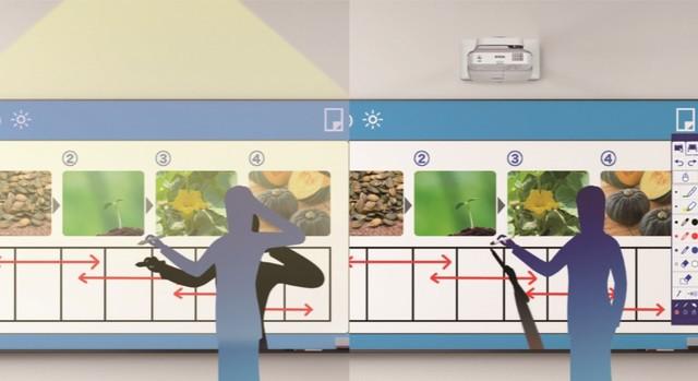 绿色课堂用大屏 爱普生CB-685W投影上市