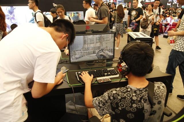 游戏主机地带 名龙堂CJ展台抢先观看