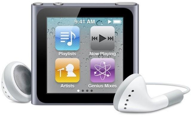 第六代iPod nano不再受苹果官方支持