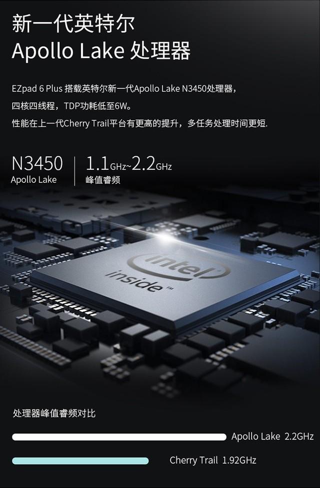 高性能2合1 中柏EZpad 6 Plus新机预约