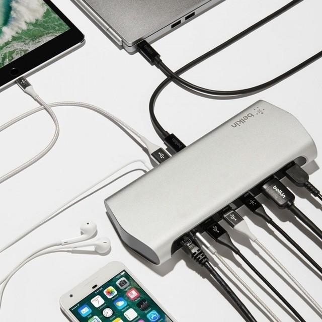 苹果用户必备 贝尔金发全新USB-C扩展坞