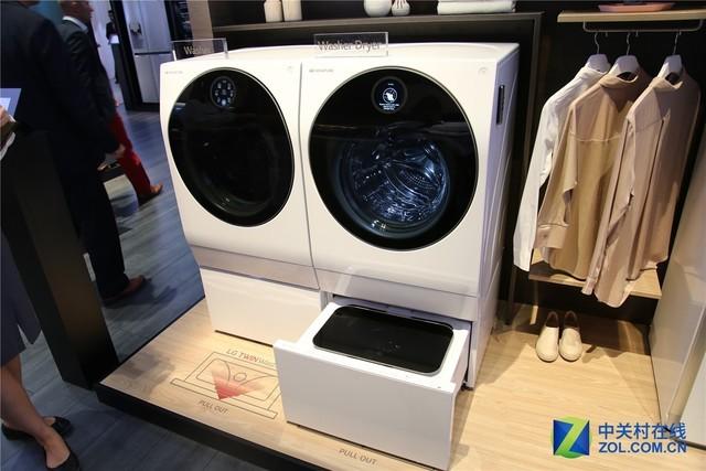 IFA LG洗衣机体验:洗涤过程硬币竟纹丝不动