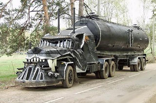 面目全非?国外最拉风的五辆改装卡车