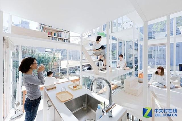 里面都住美女!日本出现全透明的豪宅