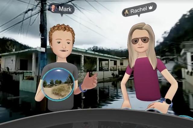 FacebookCEO为飓风后的VR虚拟访问致歉
