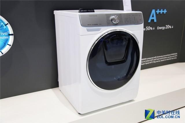 洗衣黑科技亮相!IFA三星展台新品速递