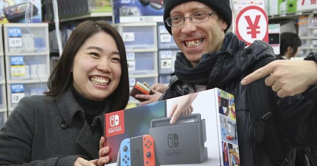 好卖 任天堂Switch日本销量已破五十万