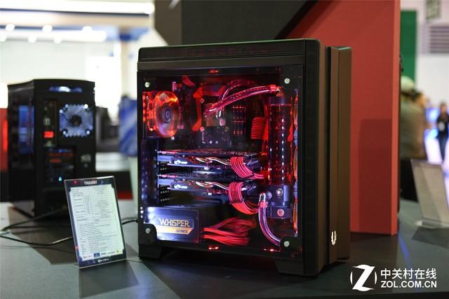 新品展示 火鸟携多款机箱亮相电脑展