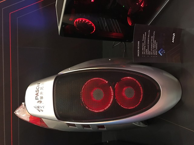 AMD RYZEN梦幻电脑亮相CES 2017
