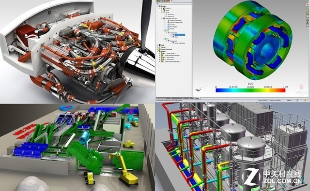 大型Solidworks装配设计与仿真工作站配置推荐