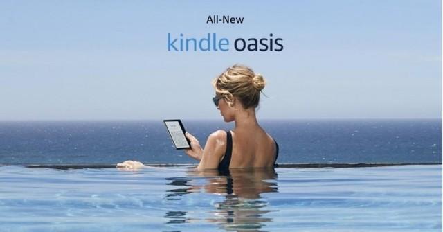 亚马逊推出新款阅读器 这回可以防水了