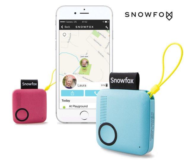 芬兰研发 Snowfox 儿童定位智能电话