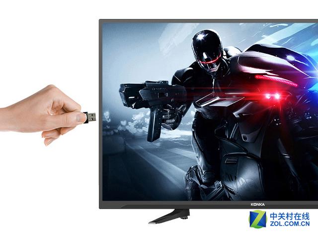 支持优盘看大片功能   康佳LED43U60还加入了蓝光高清解码功能,内置的蓝光高清解码芯片支持多种格式的高清视频回放,包括MKV、TP、AVI、MOV、MP4等多种格式的视频都可以流畅播放,只需要连接优盘或移动硬盘即可。更多40-43英寸液晶电视报价请看下表: