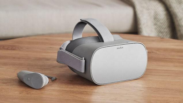 Facebook将推VR新头盔Oculus Go