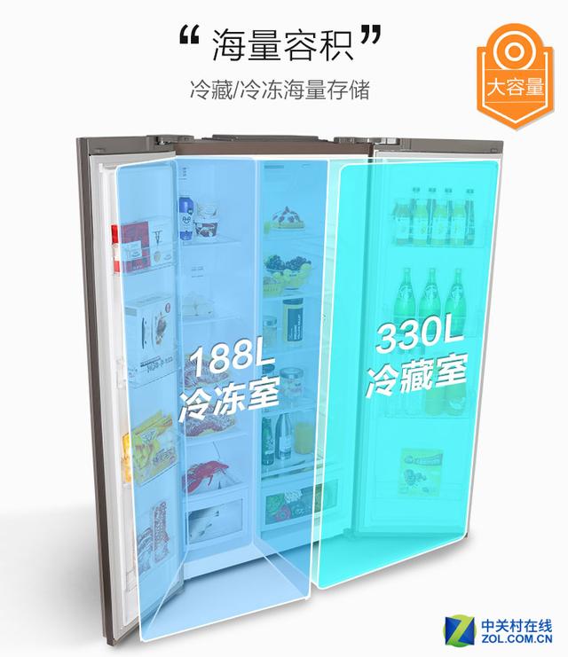 搭载四大无霜技术 TCL冰箱促销进行时