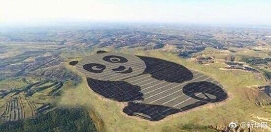 又卖萌?中国建全球首座熊猫型光伏电站