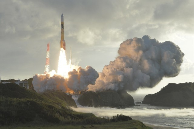 日本发射新导航卫星能改进自驾车的能力