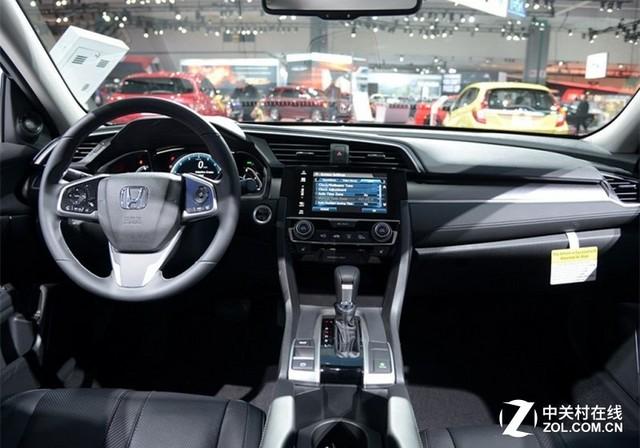 本田思域2016款-1.5T手动挡车型 新思域将在2017年推出高清图片