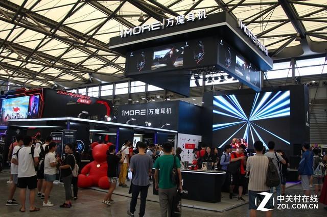 1MORE携重磅电竞新品亮相上海China Joy
